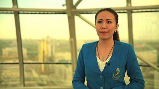 Бонус: Сауле Суюндукова, Башня Байтерек в Астане