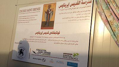 Le cardinal Barbarin inaugure l'école Saint-Irénée à Erbil financée par 3 fondations