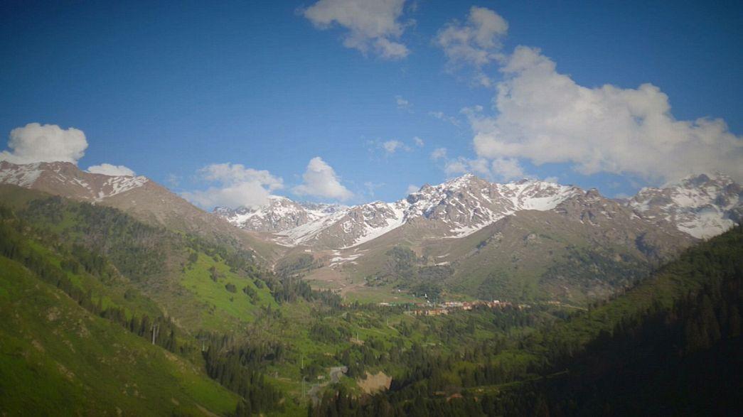 Postcards do Cazaquistão: Viagem ao vale de Almaty