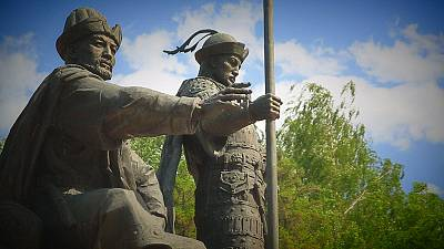 Postcards from Kazakhstan: honouring the founders of the Kazakh Khanate