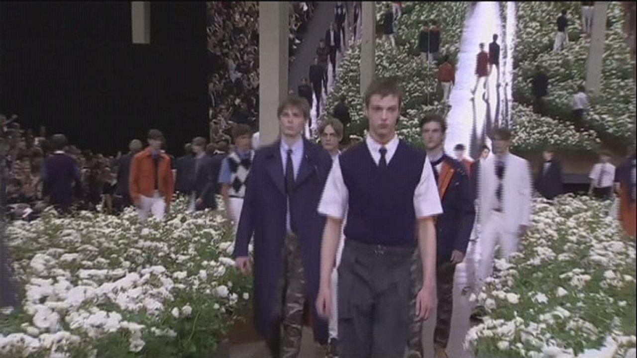 Paris Fashion Week: Götterboten in Sandalen