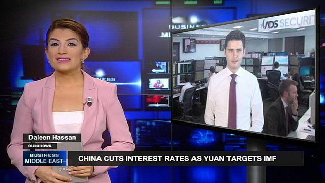 China cuts interest rates as Yuan targets IMF