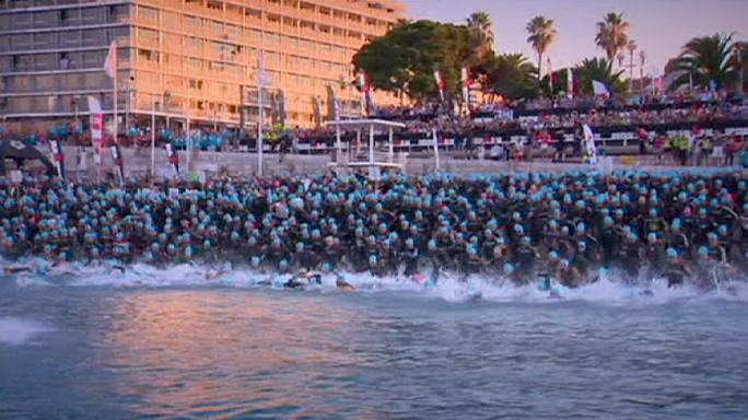 Ironman Triatlon 2015'te zafer Alman Boris Stein'in oldu