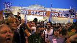 Athen: Tausende Demonstranten unterstützen Tsipras' Referendum