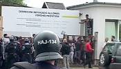 Riot breaks out at Hungarian migrant camp