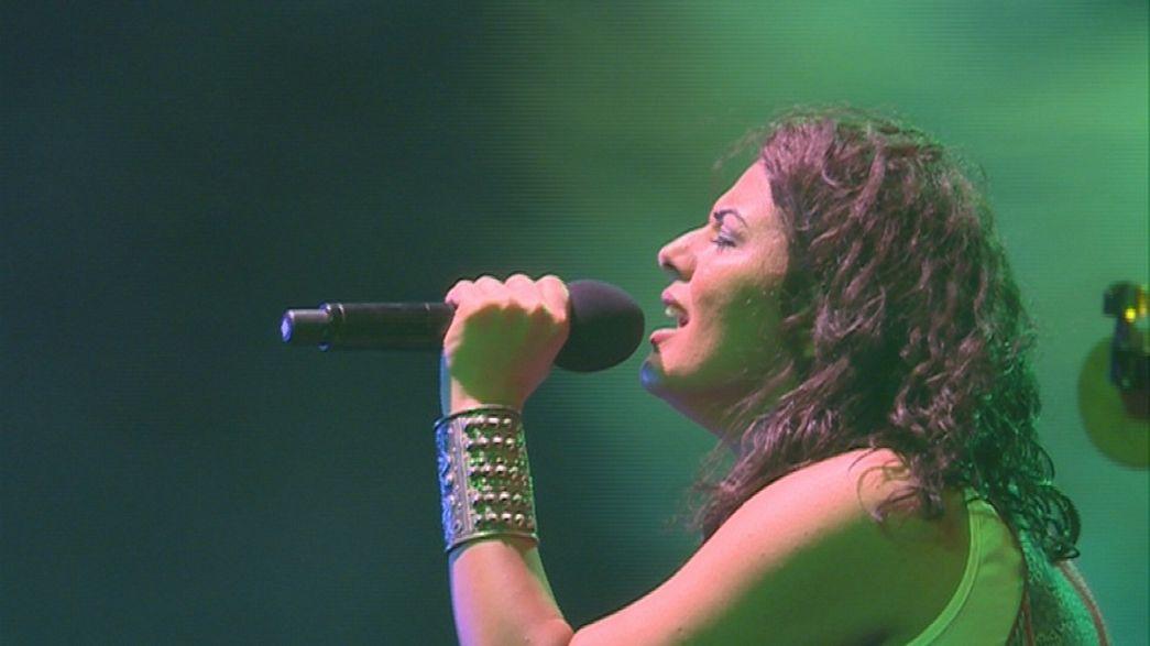 Dina El Wedidi'den Kahire konseri