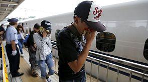 Japan: Selbstmörder zündet sich im Zug an