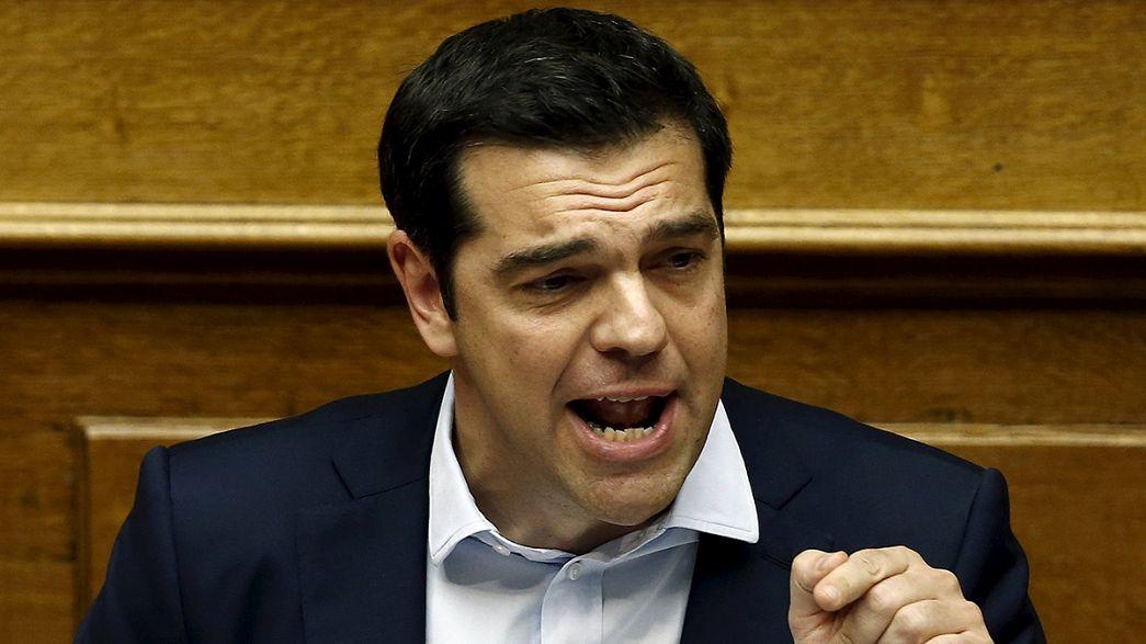 Alexis Tsipras zockt