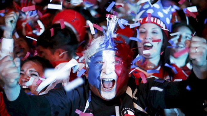 Le Chili en finale de sa Copa America
