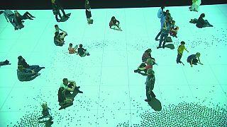 """""""غلوبل"""" معرض فني يمزج بين الفن، العلوم والتقنيات الحديثة"""