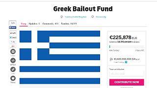 """""""Crowdfunding"""" para Grecia: 1.365.000 euros en cuatro días... y subiendo"""