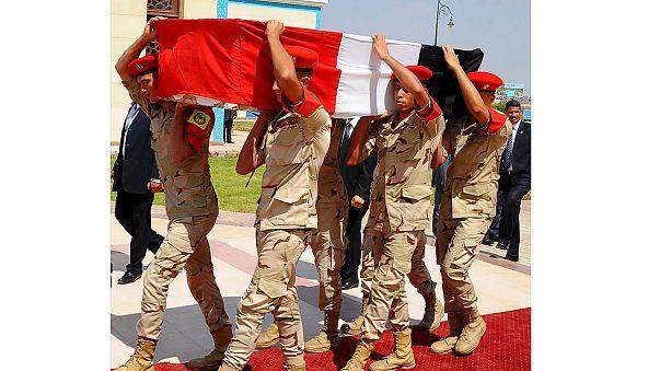 Mısır'da Başsavcı Berekat'ın cenazesi defnedildi