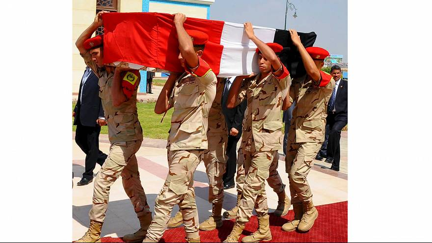 Military funeral held for Egypt's top prosecutor