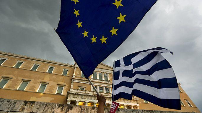 """Grèce : rassemblement pour le """"oui"""" au référendum à Athènes"""