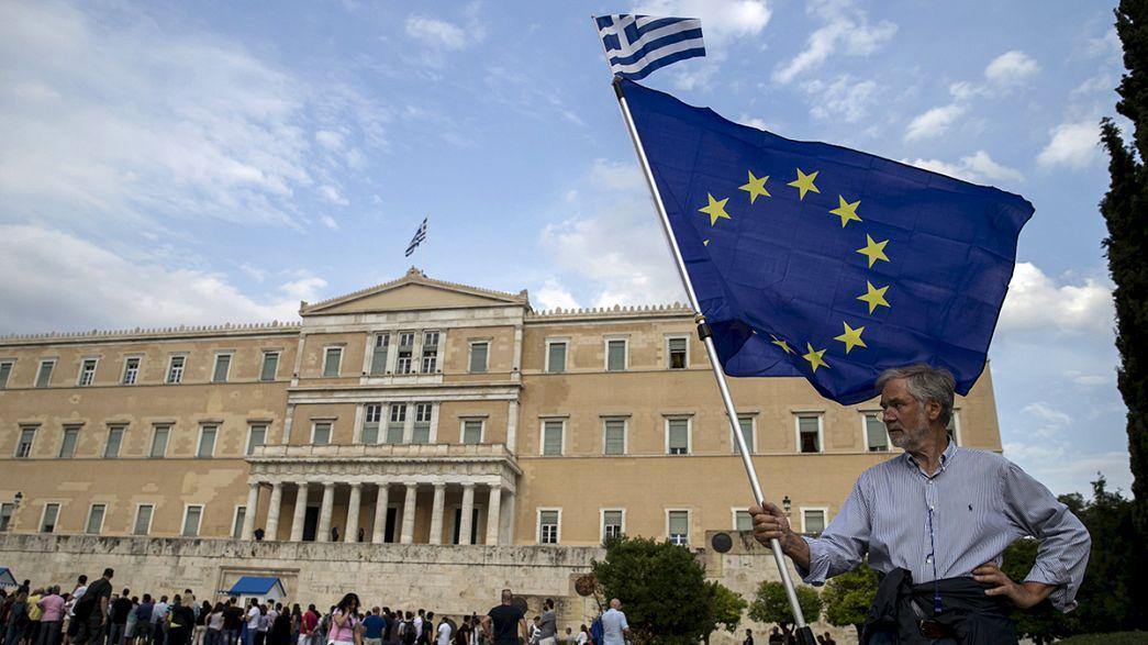 Grecia, país moroso pendiente del Eurogrupo