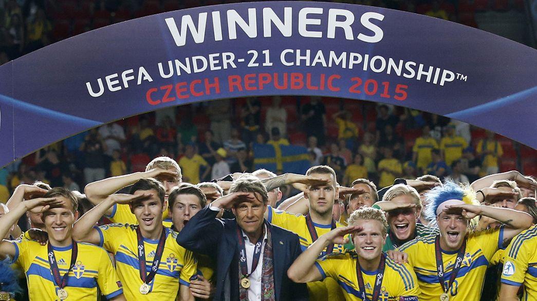 Euro sub21: Portugal caiu de pé, Suécia é a nova Campeã da Europa
