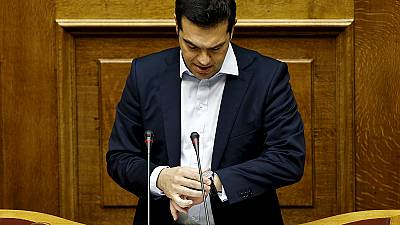 Greek Prime Minister Tsipras' new offer