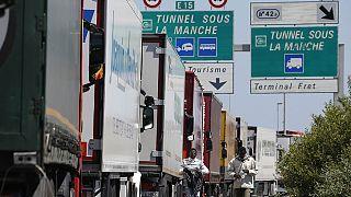إغلاق ميناء كاليه في فرنسا