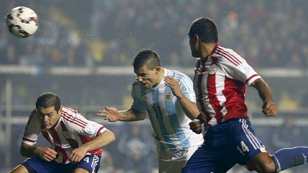 Argentina thrash Paraguay to reach Copa America final