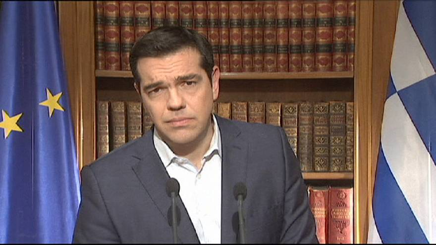 "Tsipras says Greece must vote ""no"" in Sunday's referendum to push for better bailout deal"