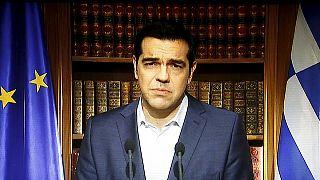 Tsipras mantiene el referéndum y llama a los griegos a votar NO en la consulta