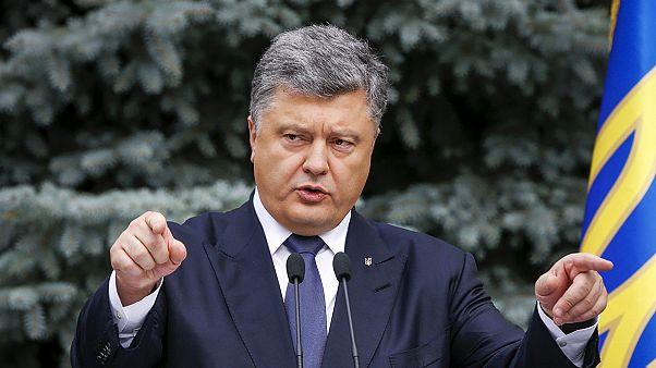 La riforma per la decentralizzazione dell'Ucraina non soddisfa i ribelli.