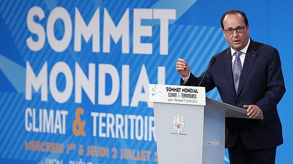 Summit del clima a Lione (Francia). Limitare il riscaldamento globale a solo 2 gradi fino al 2050