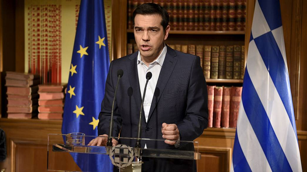 Greek PM stands firm in run-up to referendum