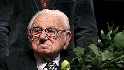 "Britain's ""Schindler"" Nicolas Winton dies 106"