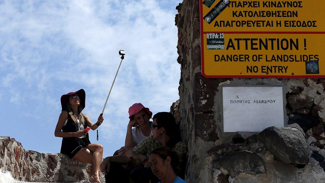 ازمة اليونان الاقتصادية لا تعكر صفو حياة السائحين