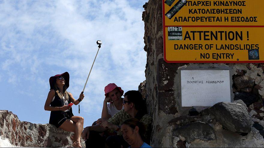 Греция: кризис туристам не помеха