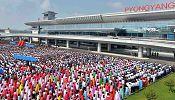 North Korea celebrates new airport