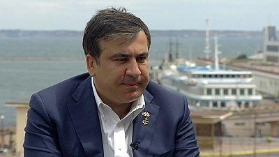 يورونيوز تحاور ميخائيل ساكاشفيلي حول الوضع في أوكرانيا