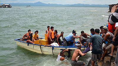 Scores dead as Philippines ferry capsizes