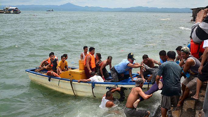 Sokan meghaltak a Fülöp-szigeteki kompbalesetben