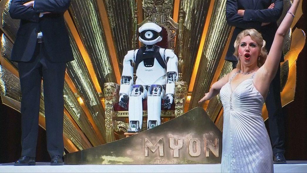 Berlin Operası'nda robot Myon sahne alıyor