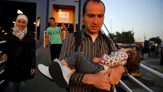 Avrupa'da göçün rotası Yunanistan'a kaydı