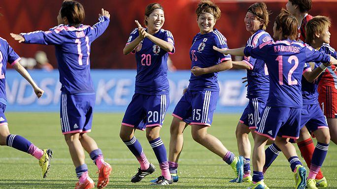 Сборные Японии и США сыграют в финале женского чемпионата мира по футболу
