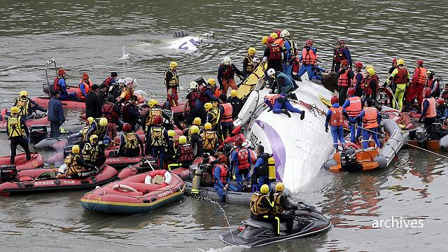 Captain blamed for Taiwan TransAsia plane crash