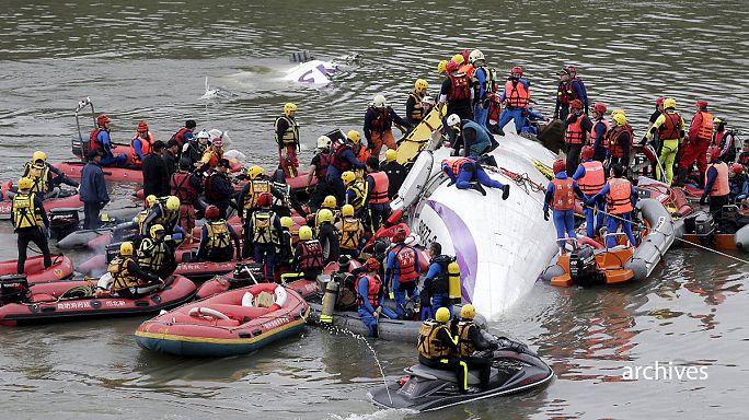 Taiwan: Transasia-Flugzeugunglück vom Februar Schuld des Piloten