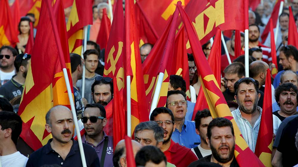 greek people will suffer after sunday s vote says communist party