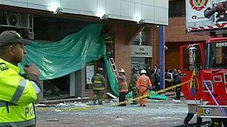 Explosões em Bogotá fazem 10 feridos