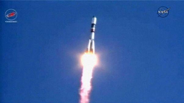 Le vaisseau russe Progress en route vers l'ISS