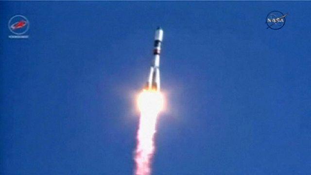 إطلاق مركبة الشحن بروغريس لتزويد محطة الفضاء الدولية بالماء والغذاء