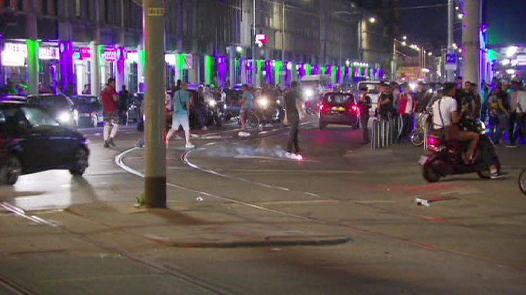 Pays-Bas : quatrième nuit de violences dans le quartier de Schilderswijk à La Haye