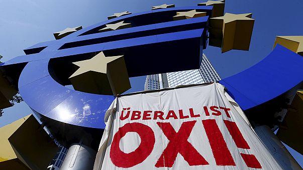 Avrupa televizyonlarında Yunanistan referandumunu