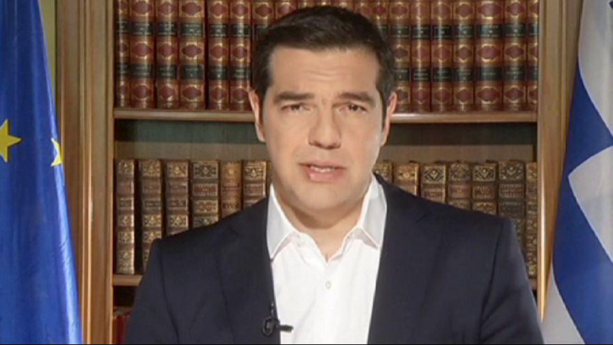"""Grécia: Tsipras renova apelo ao """"Não"""""""