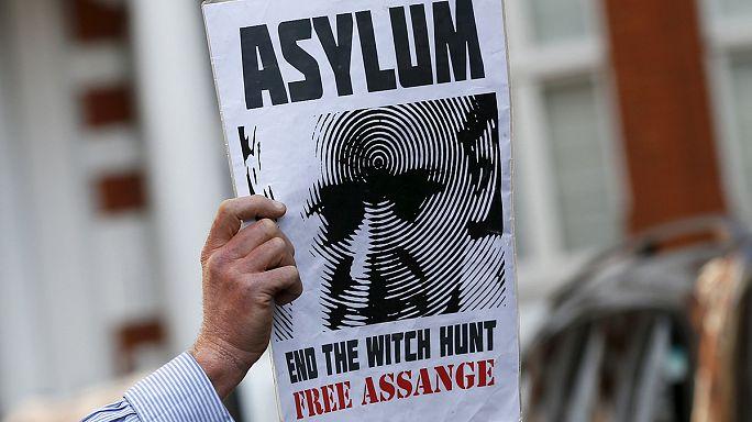 Nem kap menekültstátuszt Franciaországban Assange