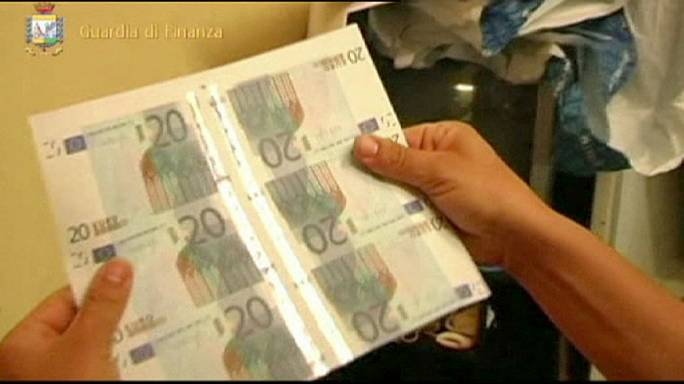 Italian police find fake euros worth millions