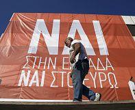 Il referendum divide la Grecia, Atene al bivio di una destinazione ignota